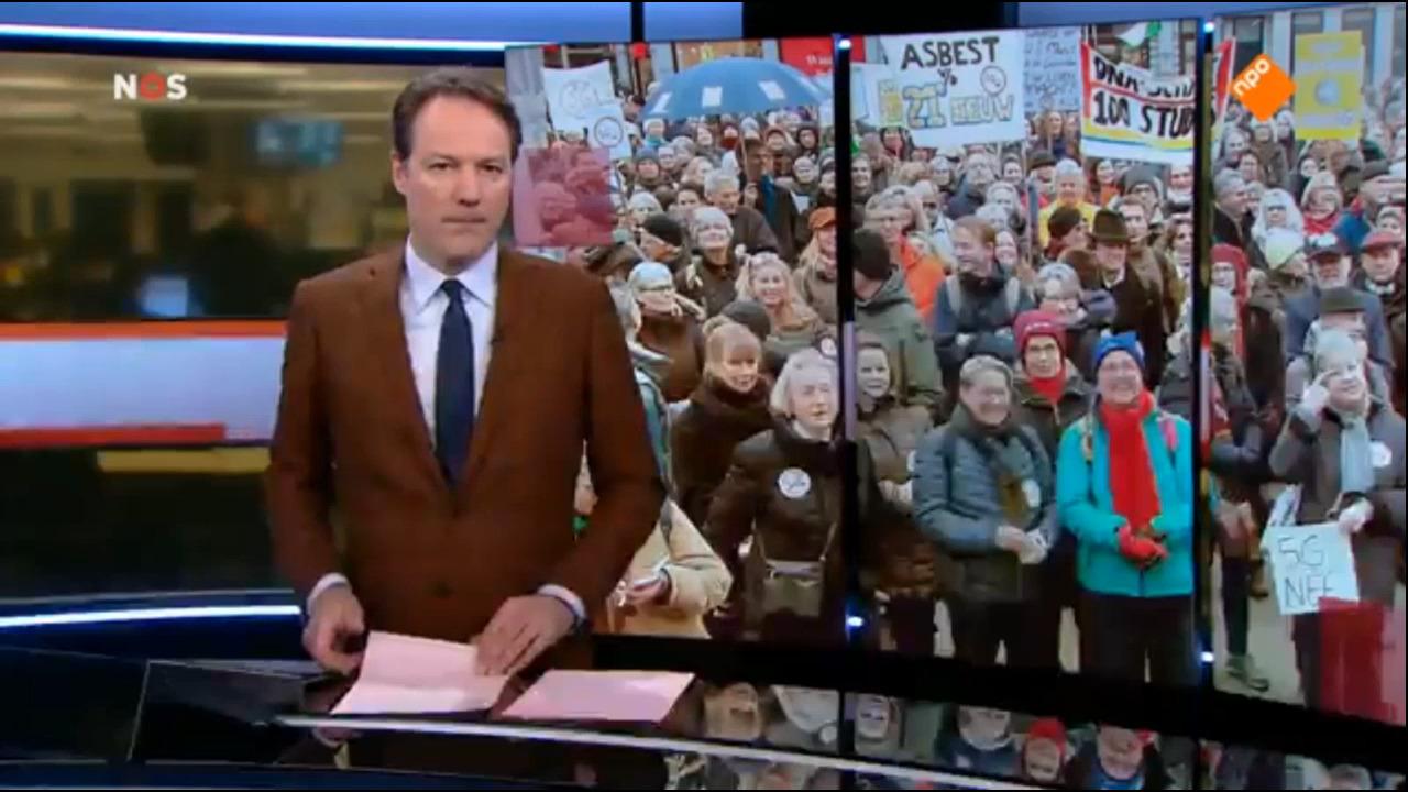 NOS-journaal 25 jan. 2020: 5G demonstratie in Amsterdam.