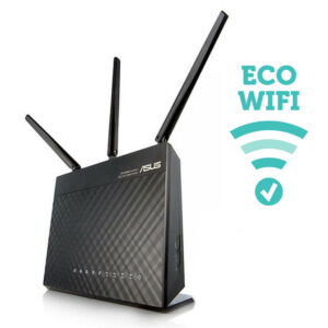 Strahlungsarme WLAN-Router JRS eco-wifi
