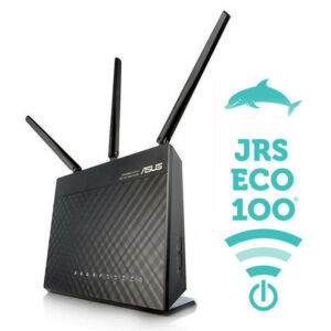 The JRS Eco 100 Wifi router: 100% radiation-free in stand-by