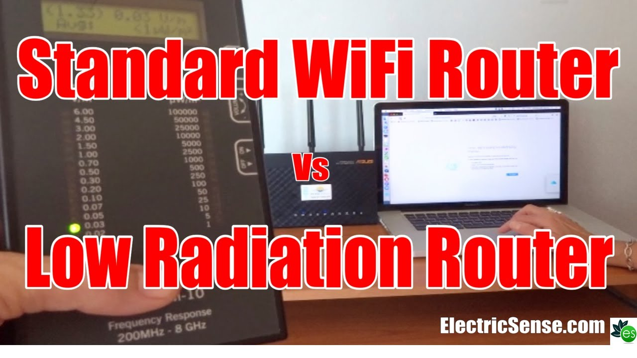 Low Radiation WiFi Router: JRS Eco Compared to Normal Router